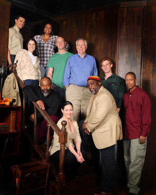 Cast of 'The Exonerated.' Photo by Tom Lauer. Photo Courtesy of http://vagabondplayers.org