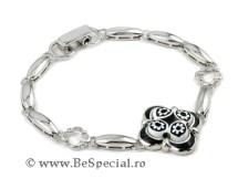 Bratara-argint-cu Murano