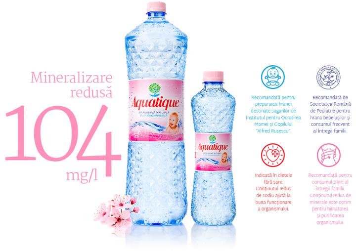 """aquatique group 02b - Apa minerală plată ideală pentru copii se scrie """"Aquatique"""""""