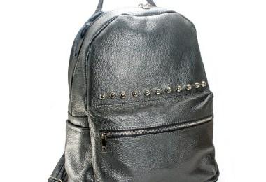 geanta gri - Rucsac de dama gri, cu motan inclus