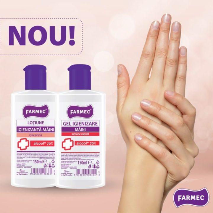 produse igienizante noi farmec 4 768x768 1 - Grija pentru natură are Farmec