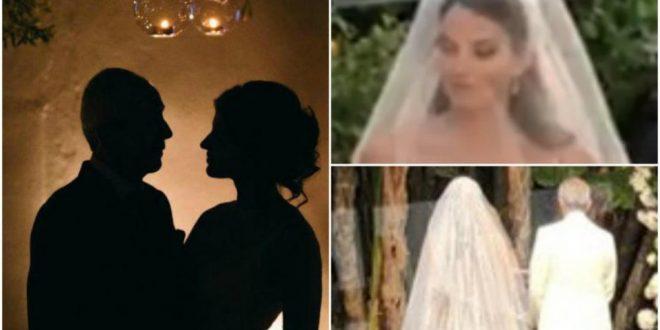 7a199ebc6439 Γιάννης Κούστας – Δήμητρα Μέρμηγκα  Δείτε βίντεο από τον παραμυθένιο γάμο  στο Σορέντο