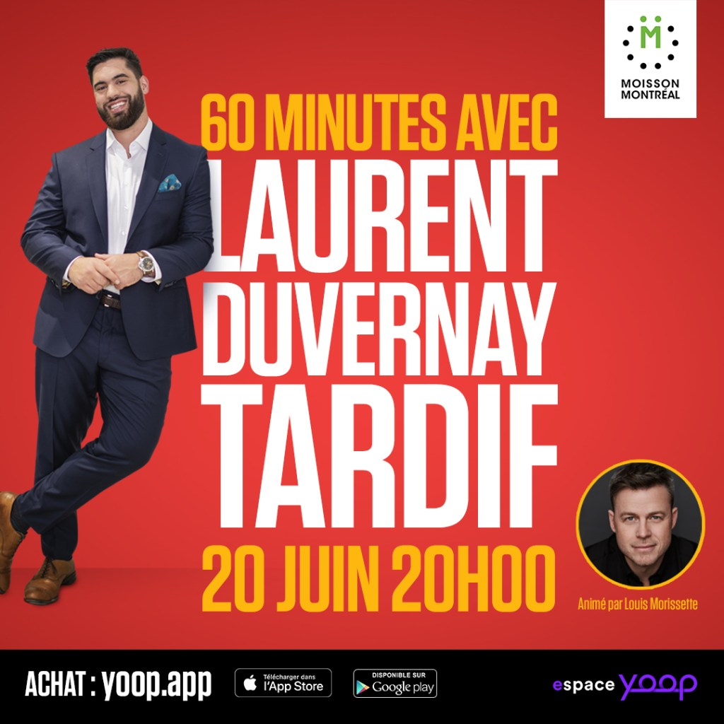 60 minutes avec Laurent Duvernay-Tardif