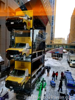 Some of the attractions of Super Bowl Live