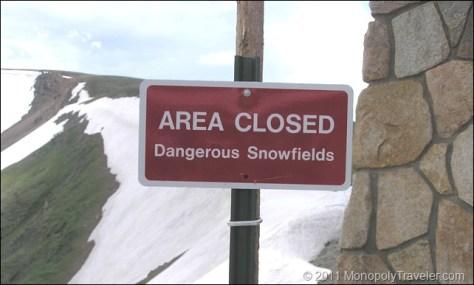 Dangerous Snowfields