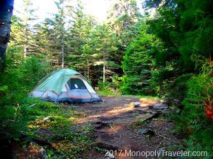 Sleeping in the solitude of Isle Royale can be difficult to get use to.
