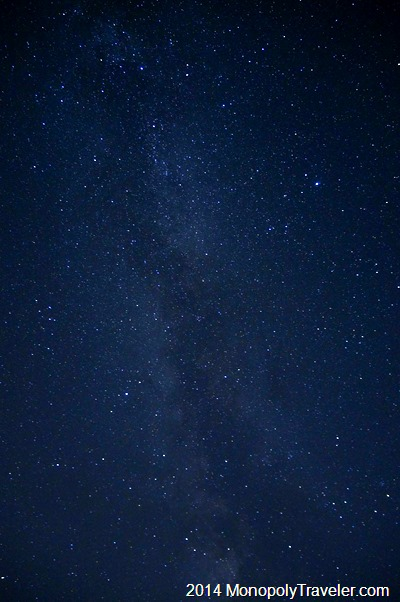 The Milky Way Once Again Overhead