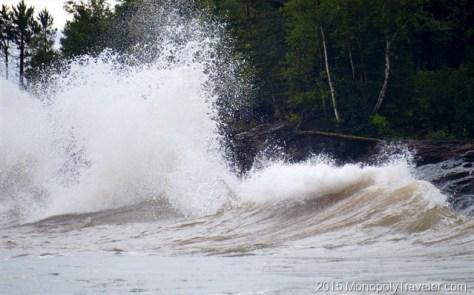 Four Foot Waves Crashing