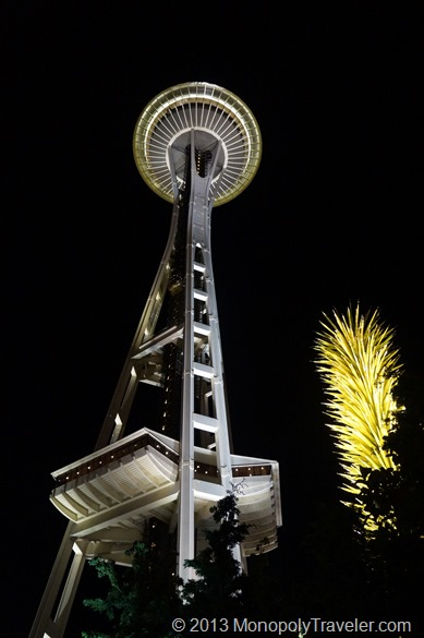 The Space Needle at Night