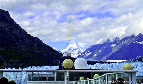 A 15 Story Ship Next to the Margerie Glacier