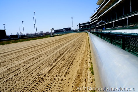 The track at Churchill Downs.