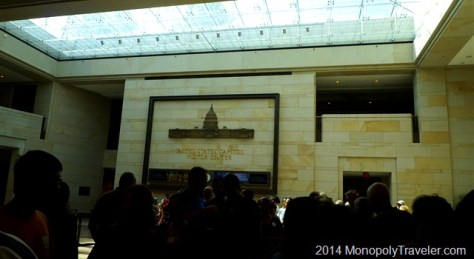 The US Capital Visitor's Center