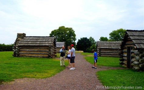 Living Accomodations at Valley Forge