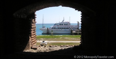 The Ferry Through a Window