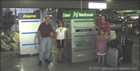 National Car Rental at the MSP Airport