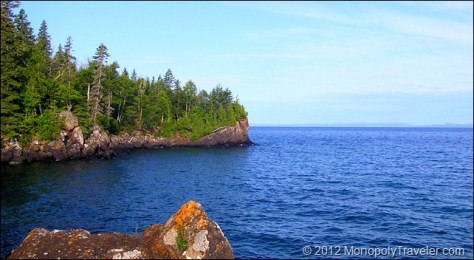 A Beautiful Morning on Lake Superior