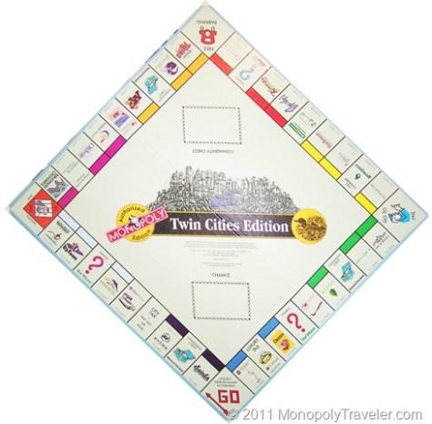 Twin Cities Monopoly Board