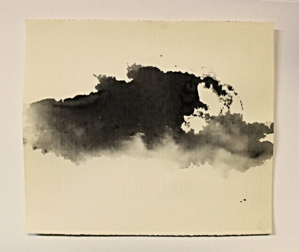 Monotypes-landscape Sumi- And Ink Washes - Monoprint-monotype
