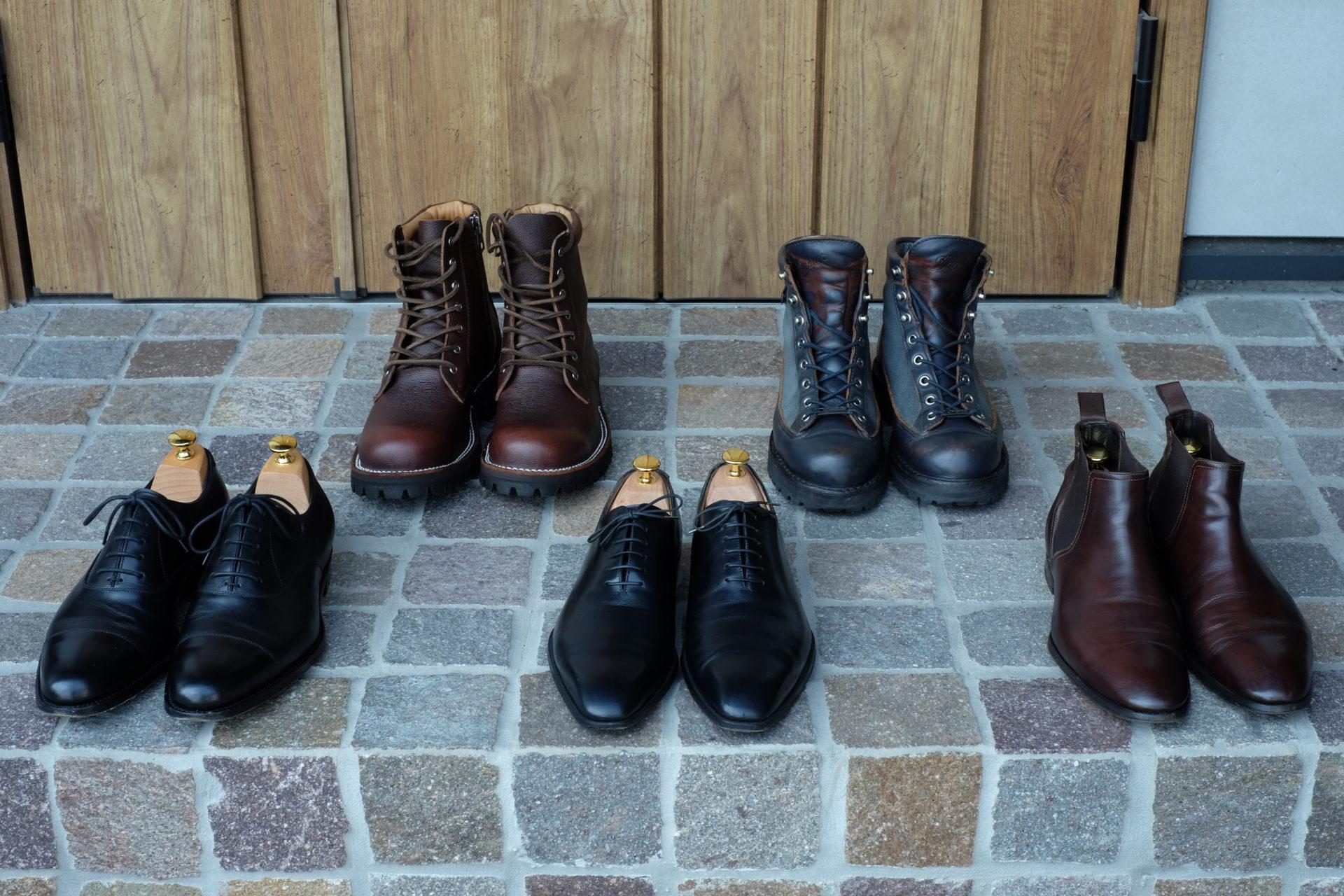 革靴 レザーシューズ メンテナンス