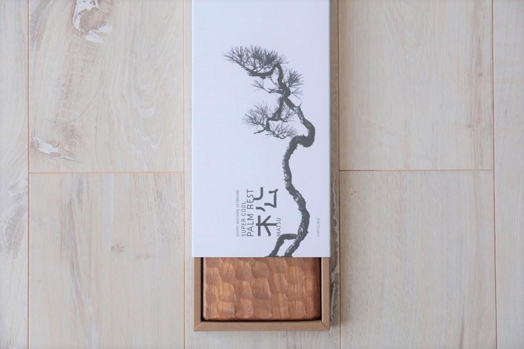 hhkb, matsuba,松葉製作所, パームレスト, 木製, 亀甲名栗(きっこうなぐり)HHKB木製パームレスト&キーボードルーフ