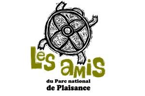 Le logo des Amis du Parc national de Plaisance représente une tortue.