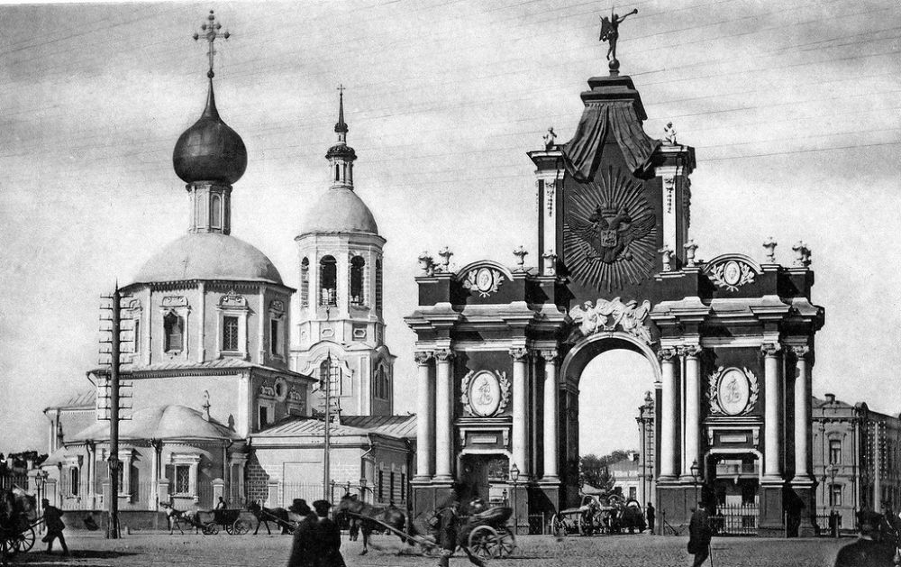 Vintage photos of Moscow in the past 19th century  MONOVISIONS
