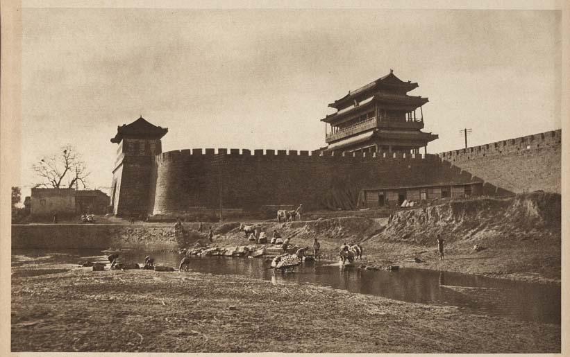 Vintage historic photos of Peking China 1920s