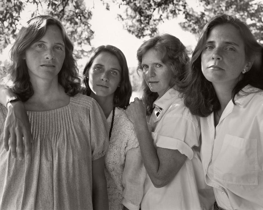 Nicholas Nixon The Brown Sisters 40 Years  Monovisions