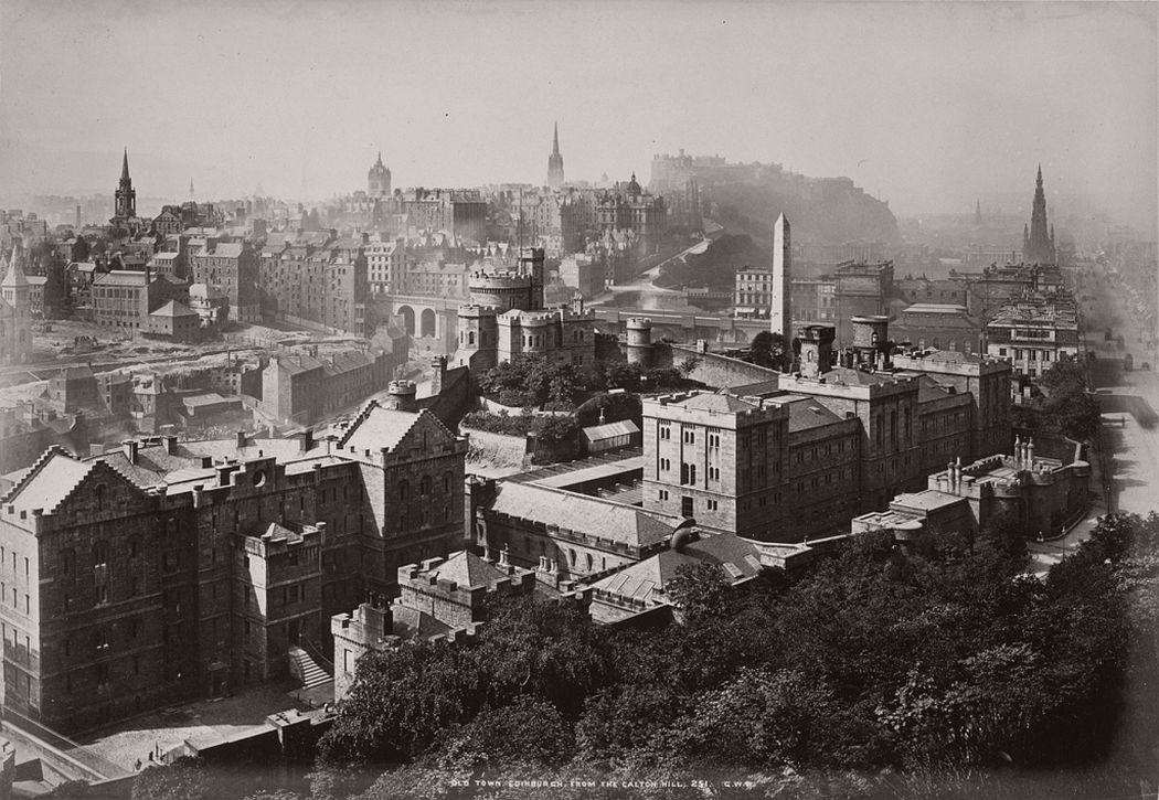 Vintage BW Photos of Scotland from between the 1840s and