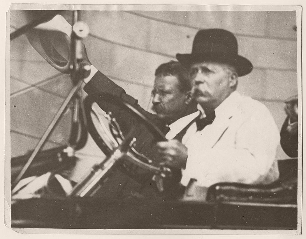 Vintage Public Portraits Of President Theodore Roosevelt
