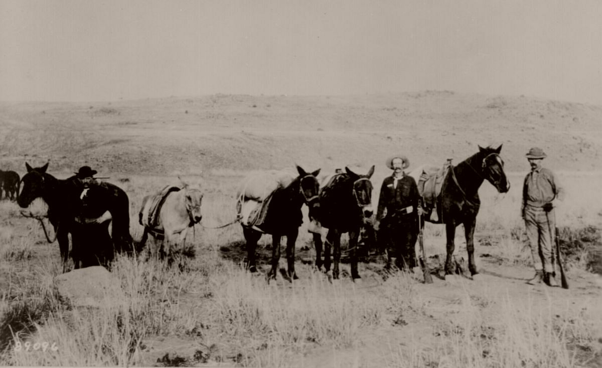 Vintage American West During The American Frontier Days