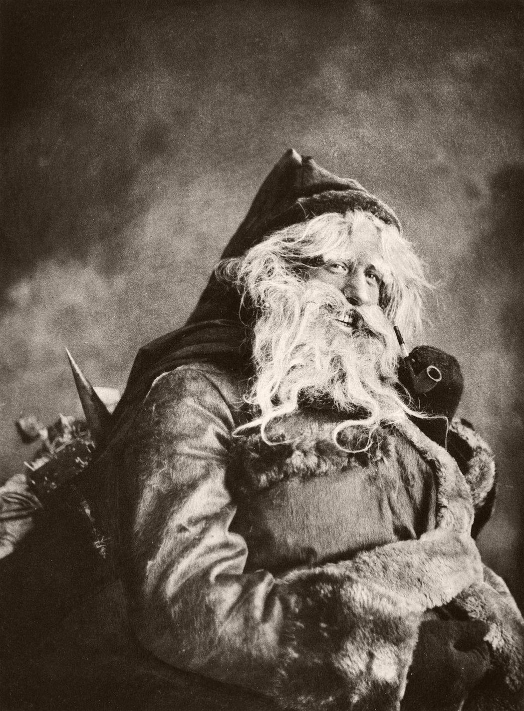 Vintage Santa Claus In The Past MONOVISIONS
