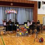 ロボットと人のミニライブ!- 訪問演奏会 – MUSICROBOT の様子