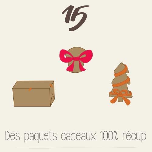 calendrier de l'avent 2015 par mon petit balcon jour 15 - des paquets cadeaux fait maison