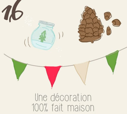 DIY tablée de Noël décorée avec des objets récupérées (partie 1/2)