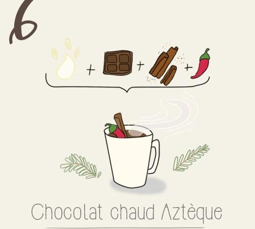 Recette du chocolat chaud Aztèque (Aztec hot chocolate VG)