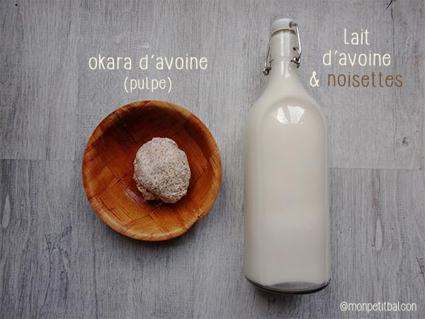 Lait avoine et noisette recette maison (sans gluten ni lactose)