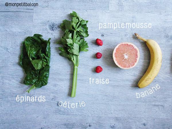calendrier de l'avent 2015 par mon petit balcon jour 8 - trois recettes aux épinards - green smoothie