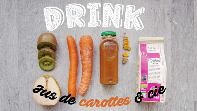 Jus de carottes et compagnie