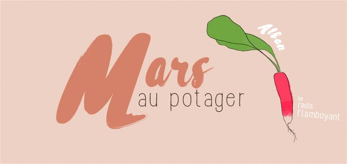 Calendrier potager mars : jardiner avec la lune