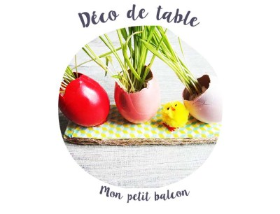 Spécial pâques : recettes végétales et déco minimaliste - diy déco de table zerowaste