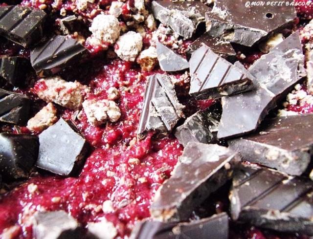 goûter de de paques végétarien brownie chocolat betterave