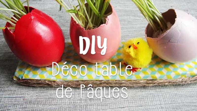 Pâques à la maison : décoration de table DIY avec les enfants