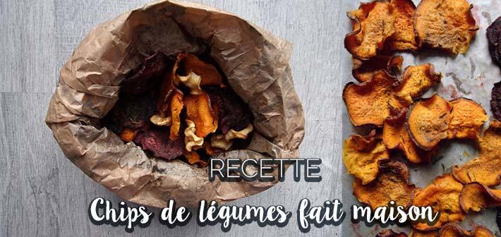 Chips de légumes au four – recette en images