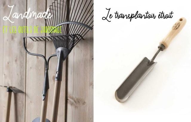 Landmade mobilier durable - outils de jardinage dewit fabriqués au pays-bas, transplantoir étroit