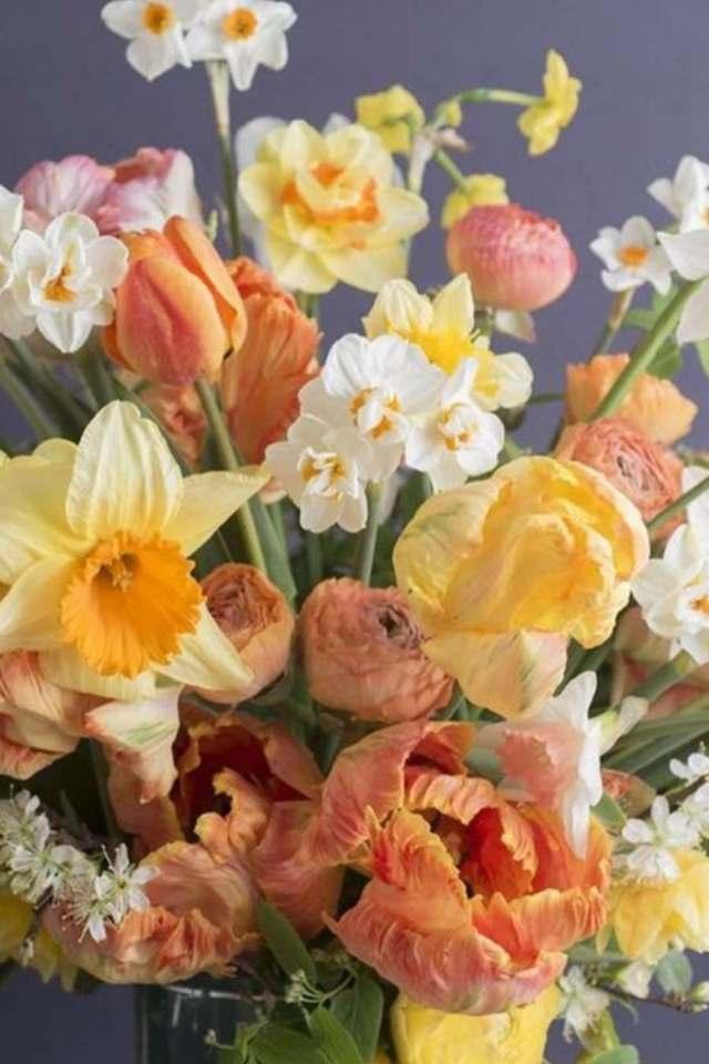la jonquille en bouquet ile-de-france boutique pompom montreuil