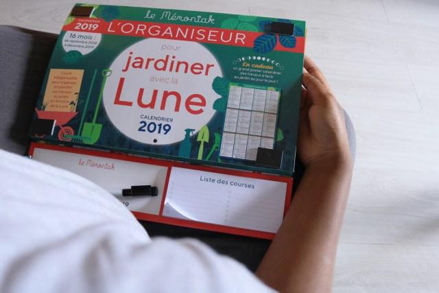mémoniak pour jardiner avec la lune en 2018 et 2019 aux éditions 365