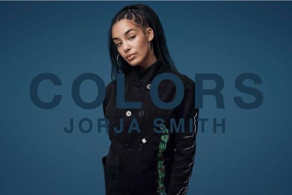 colors studio, jorja smith