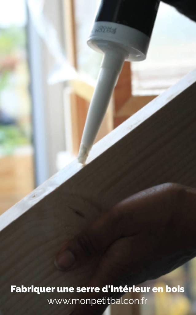 assembler le bac potager en bois