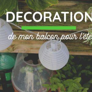 Aménager un petit salon de jardin au balcon | Décoration